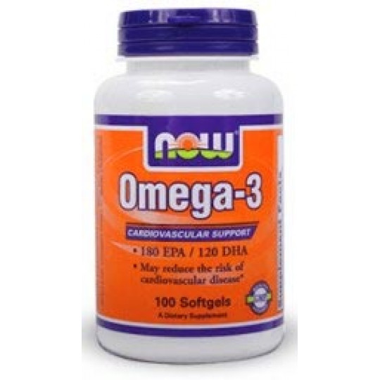 Now Omega 3 1000 мг 100 капсул