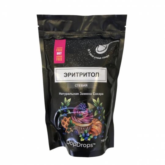 DopDrops Эритритол и стевия 1:3 750 г
