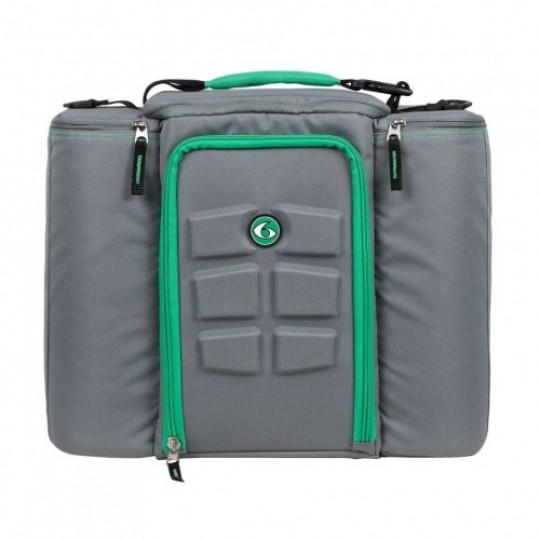 6 pack fitness Innovator 500 Grey-Green Сумка для еды с контейнерами серый-зеленый