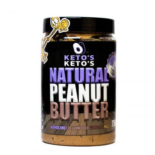 Ketos Natural Peanut Butter Gretski 750 г