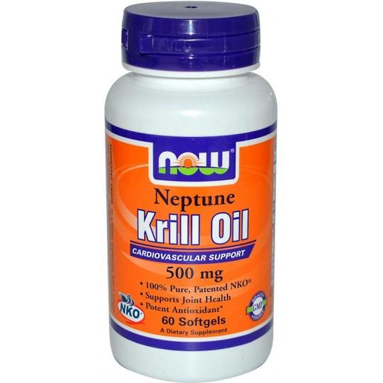 Now Krill Oil Neptune 500 мг 120 капсул