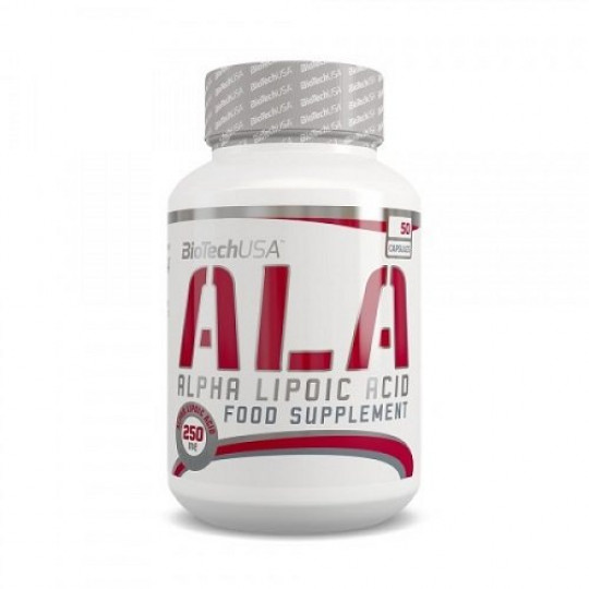 Biotech Nutrition ALA alpha lipoic acid 50 капс.