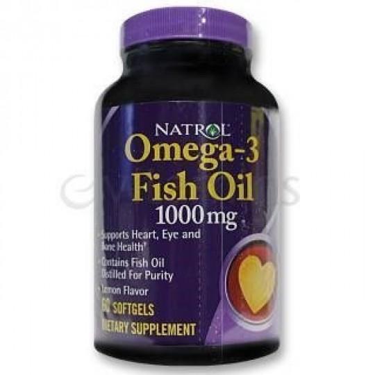 Natrol Omega-3 Fish Oil 90 капсул
