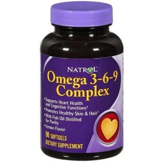Natrol Omega 3-6-9 60 капсул