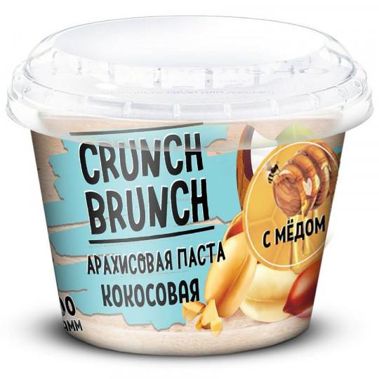 CRUNCH-BRUNCH Арахисовая паста Кокосовая с медом 200 г