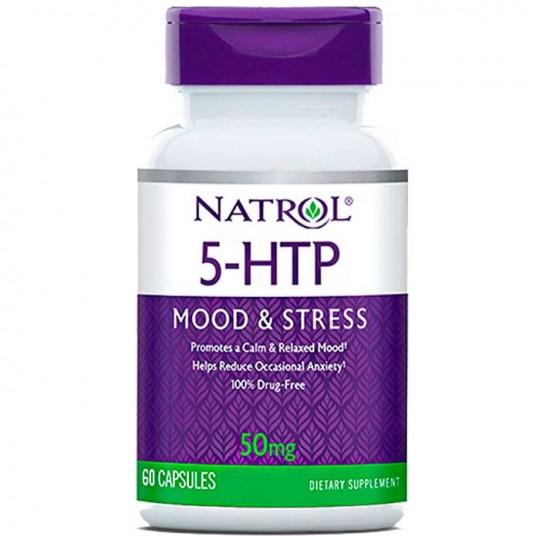 Natrol 5-HTP 50 mg 60 капс.