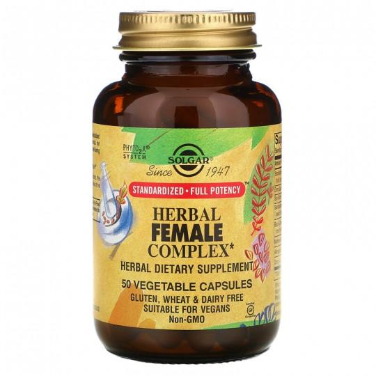 Solgar травяной комплекс для женщин 50 растительных капсул