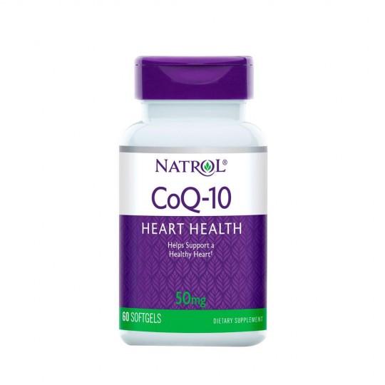 Natrol Coenzyme Q10 50 mg 60 капс.