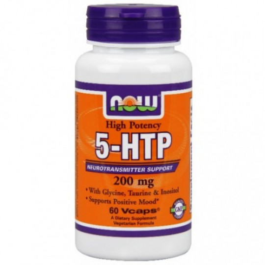 Now foods 5-HTP 200 mg 60 капс.