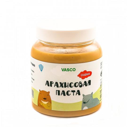VASCO Сладкая арахисовая паста 800 г