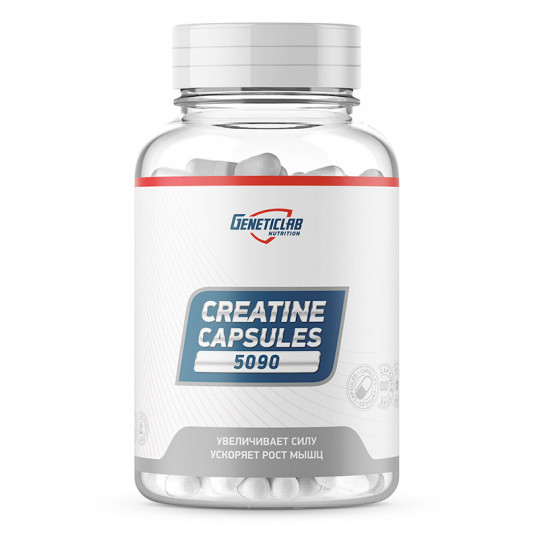 GeneticLab Nutrition Creatine Capsules