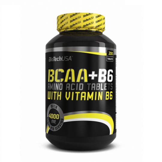 Biotech Nutrition BCAA+B6 200 таб.
