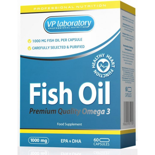 VPLab Fish Oil 60 капсул