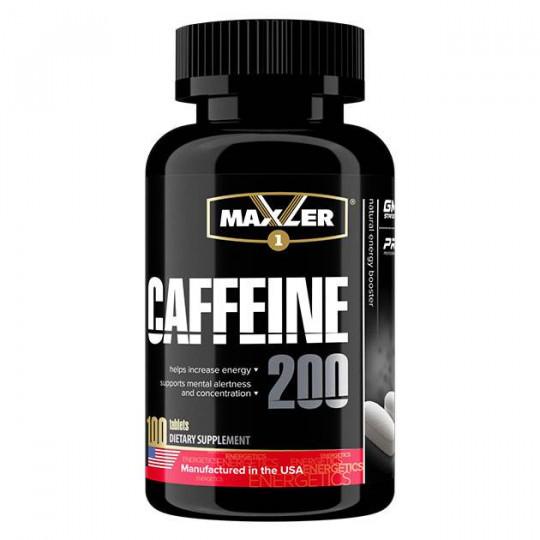 Maxler Caffeine 200 mg 100 таб.