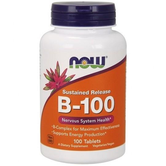 Now foods Vitamin B-100 100 mg 100 капс.