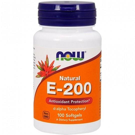 Now foods Vitamin E-200 100 капс.