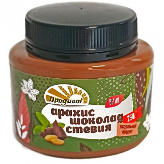 Продиет Паста Арахисовая Шоколад стевия 250 г