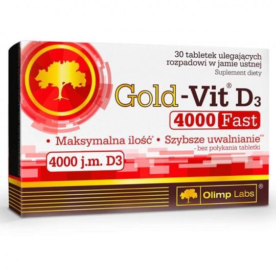 Olimp Gold-Vit D3 4000 fast 30 таб.