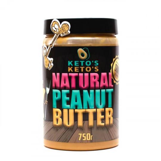 Ketos Natural Peanut Butter Crunch 750 г