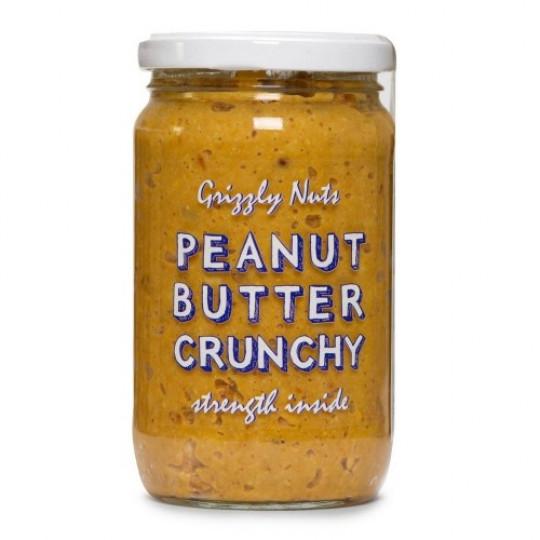 Grizzly Nuts арахисовая паста хрустящая Crunchy 370 г