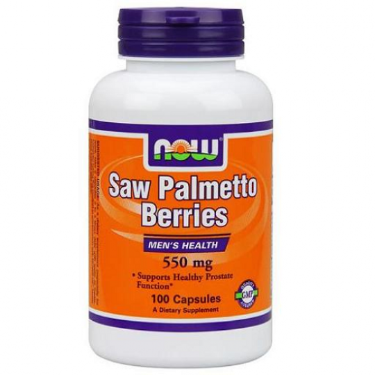 Now foods Saw Palmetto 550 mg 100 капс.