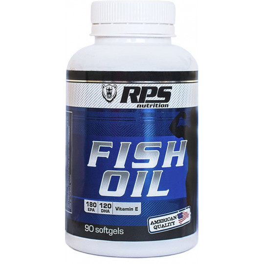 RPS Nutrition Fish Oil 90 капсул