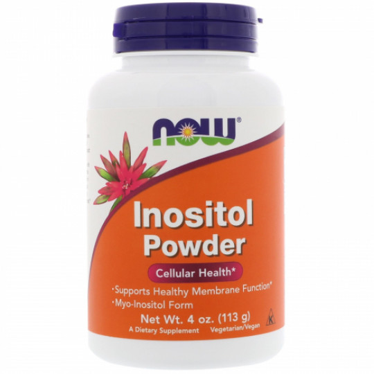 Now foods Inositol pure powder 113 г