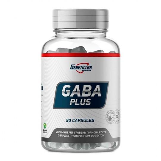 GeneticLab Nutrition GABA PLUS 90 капс.