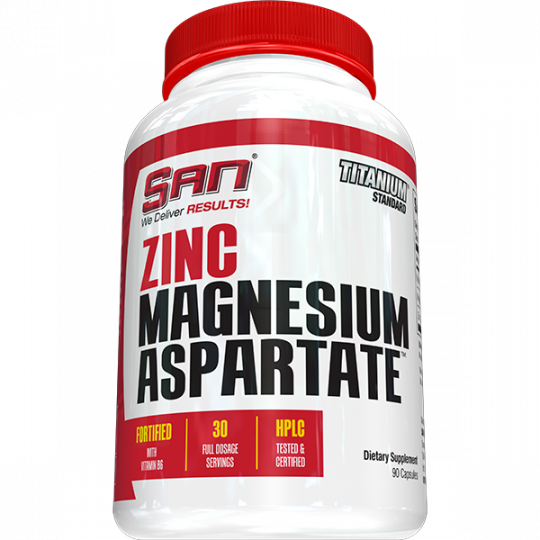 SAN Zinc Magnesium Aspartate 90 капс.