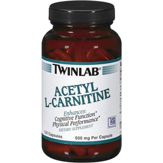 Twinlab Acetyl L-Carnitine 500 mg 120 капс.