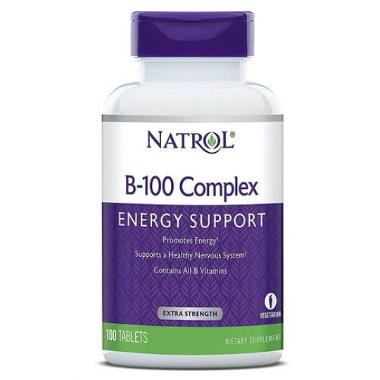 Natrol B-100 Complex 100 таб.