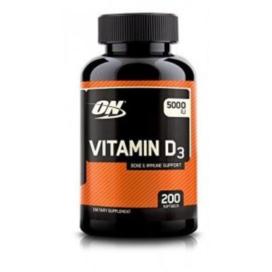 Optimum Nutrition Vitamin D 5000 200 капс.