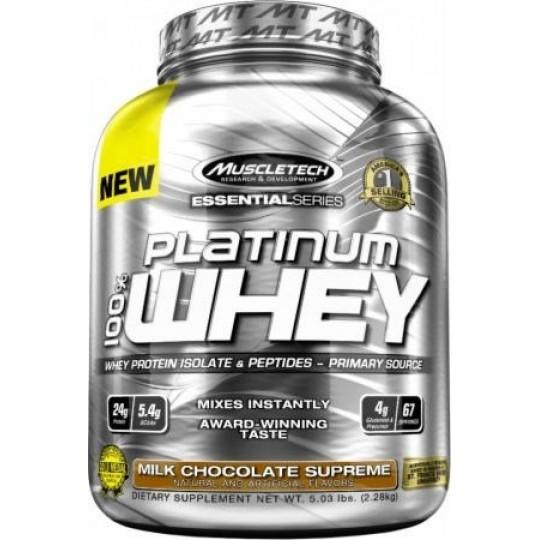 MuscleTech Platinum Whey 100%
