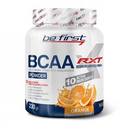 Be First BCAA RXT powder 230 г