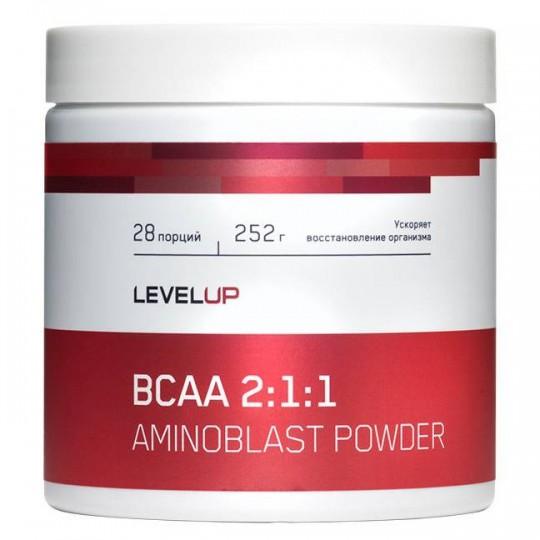 Level Up Aminoblast BCAA Powder 252 г