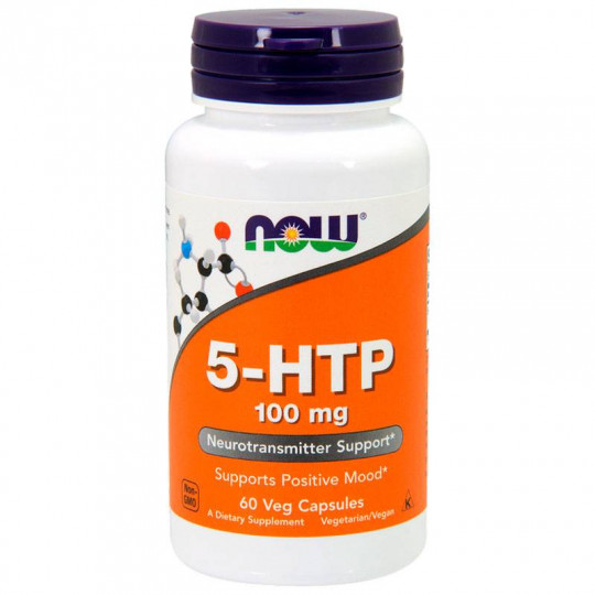 Now foods 5-HTP 100 mg 60 капс.