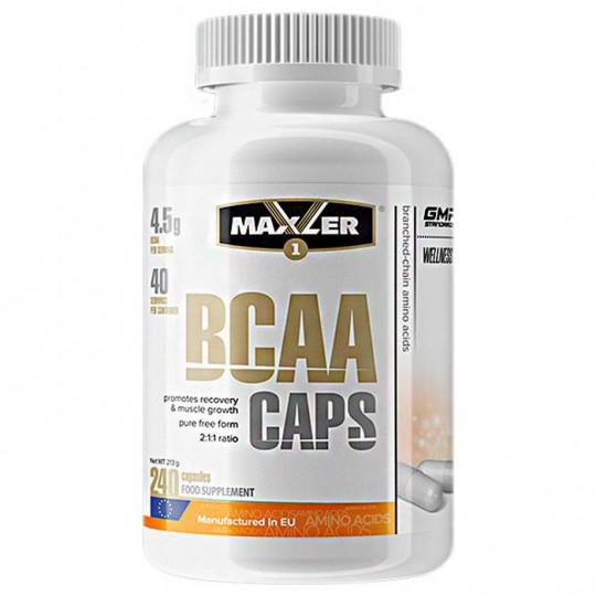 Maxler BCAA 240 капс.