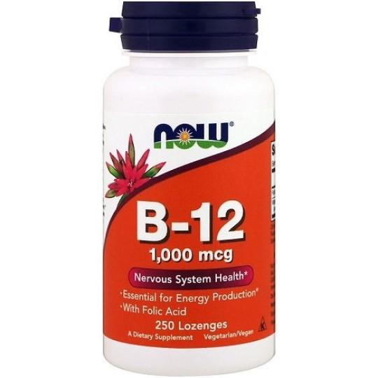 Now foods Vitamin B-12 1000 mcg 250 таб.