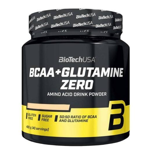 Biotech Nutrition BCAA+Glutamine ZERO 480 г