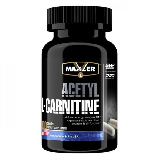 Maxler Acetyl L-Carnitine 100 капс.