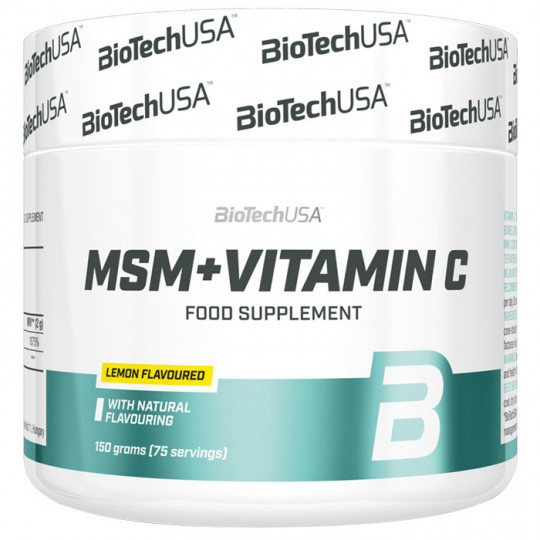 Biotech Nutrition MSM + Vitamin C 150 г