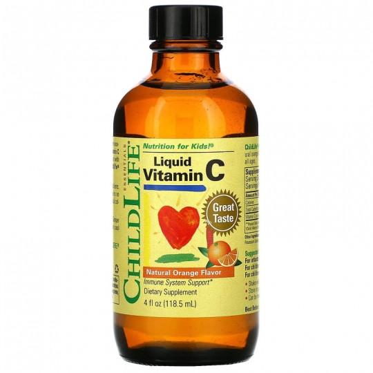 ChildLife Essentials жидкий витамин C 118,5 мл