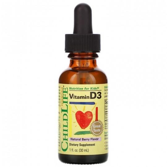 ChildLife Витамин D3 для детей 30 мл