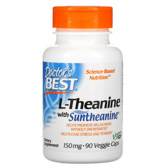 Doctors Best L-теанин с Suntheanine 150 мг 90 капс