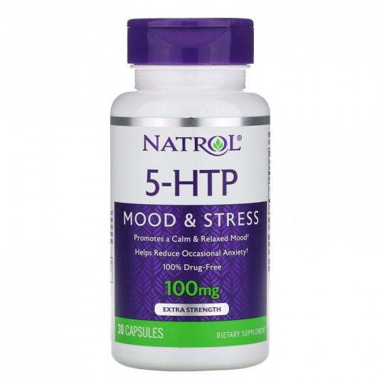 Natrol 5-HTP 100 мг 30 капс.