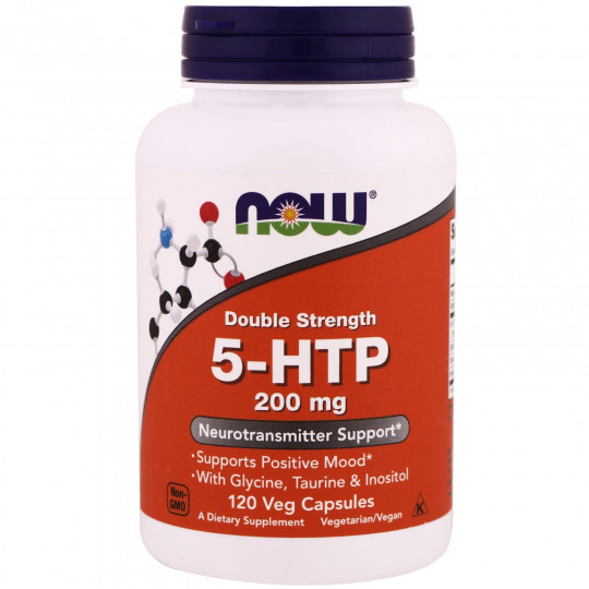 Now foods 5-HTP 200 mg 120 капс.