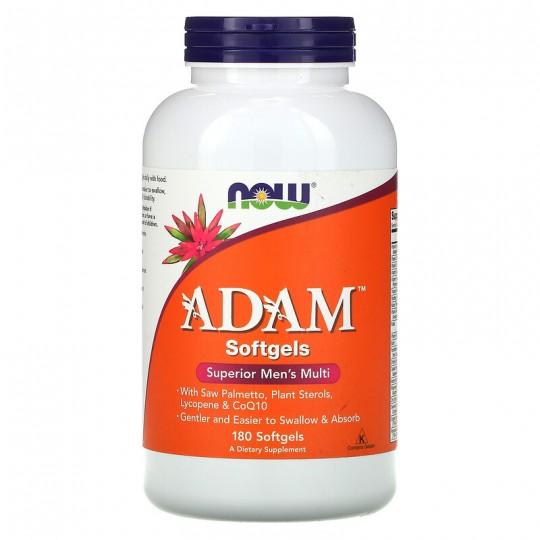 Now foods ADAM Men's Multivitamin 180 капс.