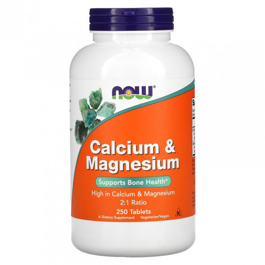 Now foods Calcium & Magnesium 250 таб.