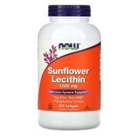 Now foods лецитин подсолнечный 1200 mg 200 капс.