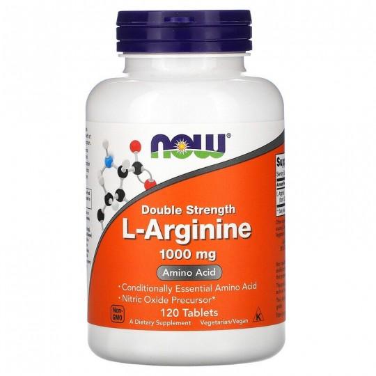 Now Foods L-аргинин 1000 мг 120 таб